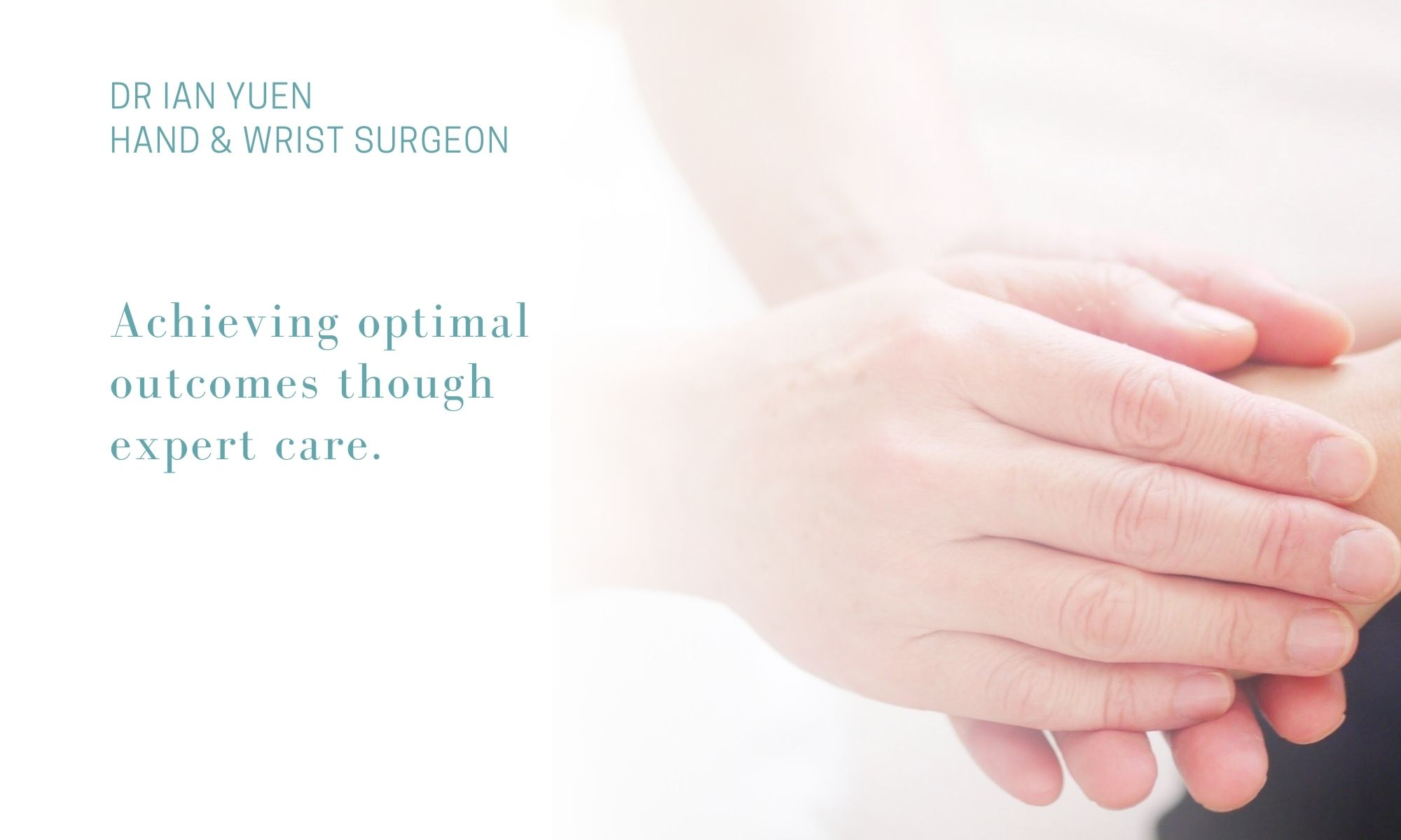Dr Ian Yuen  Hand and Wrist Surgeon Sydney